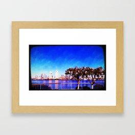 Seaport Village, SD, CA Framed Art Print