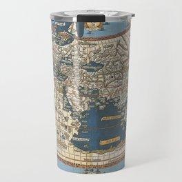 World map 1492 Travel Mug