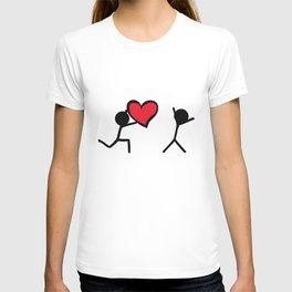 I love you by Oliver Henggeler T-shirt