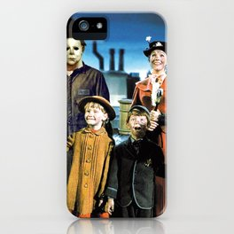 Michael Myers in Mary Poppins iPhone Case