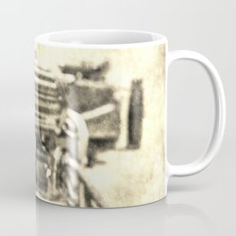 Vickers Machine Gun Vintage Coffee Mug