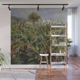 """Auguste Renoir """"Field of Banana Trees"""" Wall Mural"""
