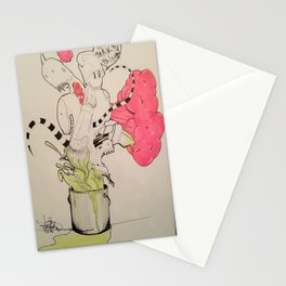 BUCKET FULL OF MONSTERS Stationery Cards