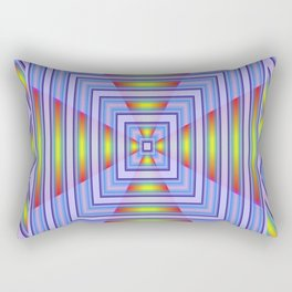 *Blue Heavens Doorway* Rectangular Pillow