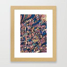 Jammin' Good (Tropical Breeze) Framed Art Print