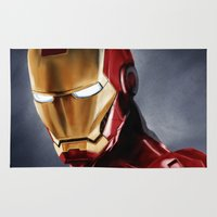 ironman Area & Throw Rugs featuring IronMan by San Fernandez