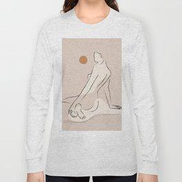 Nude 2 Long Sleeve T-shirt
