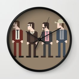 Anchorman 8-Bit Wall Clock