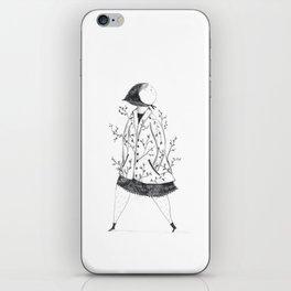 Señora de Libreta iPhone Skin