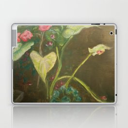 Lilly and Camelia pastel painting Laptop & iPad Skin