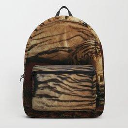 Tiger Skin Rug Backpack