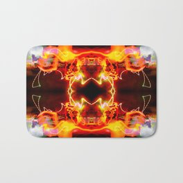 Soul spark geometry Bath Mat