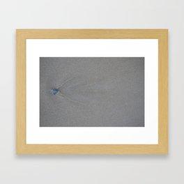 Wave Marks Framed Art Print