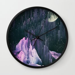 Silent Skies Wall Clock