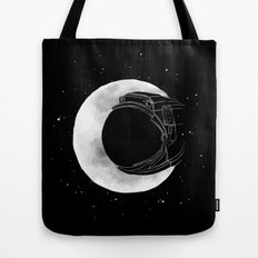 crescent moon Tote Bag