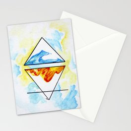 Collide Stationery Cards