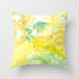 Color of the Kid Throw Pillow