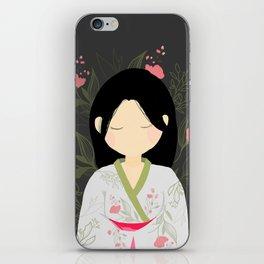 Calm Spring iPhone Skin