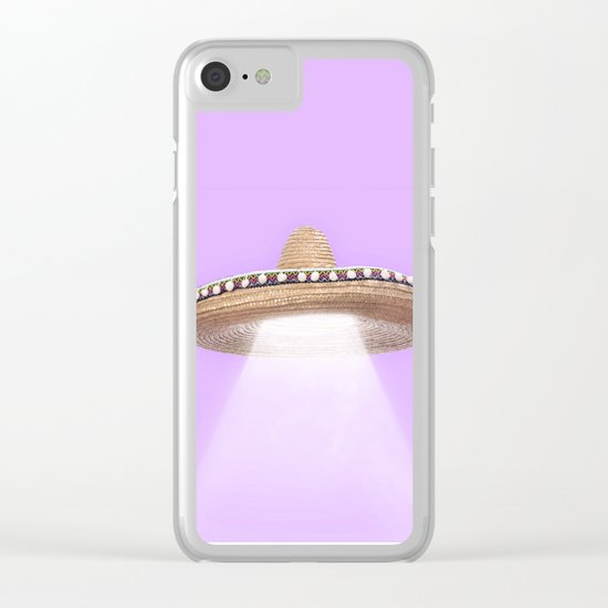 SOMBRERO UFO Clear iPhone Case