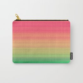 Tropical stripes Carry-All Pouch