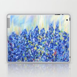 Lavender after the rain, flowers Laptop & iPad Skin