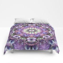 Lilac Mandala Comforters