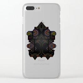 Mandalic Altar I Clear iPhone Case