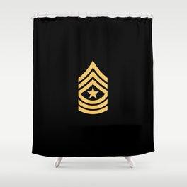 Sergeant Major (Gold) Shower Curtain