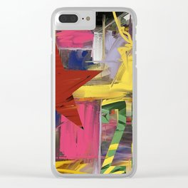 Fantasia in Pixels Clear iPhone Case