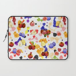 Watercolor Tutti Frutti Laptop Sleeve