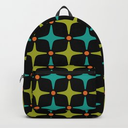Mid Century Modern Star Pattern 926 Backpack