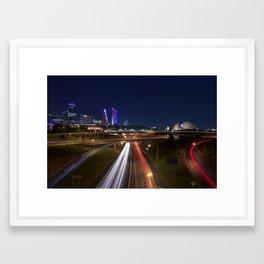 Kansas City Framed Art Print