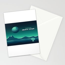 Greetings From Death Star Stationery Cards