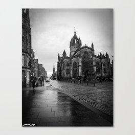 St Giles Cathedral - Edinburgh Canvas Print