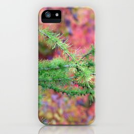 Evergreen Branch iPhone Case
