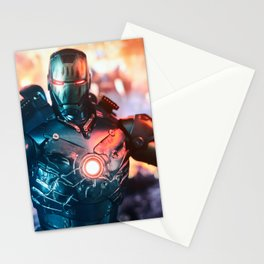 Iron Man mk3 stealth mode Stationery Cards
