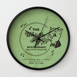 Whistle Pig Restaurant Wall Clock