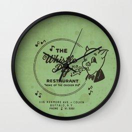 Whistle Pig Restaurant Wall Clock