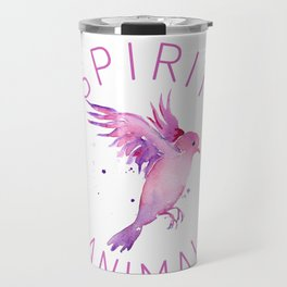 Bird Native birds songbird blackbird gift Travel Mug