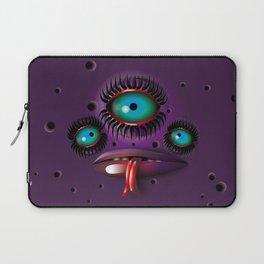 Purple Monster Laptop Sleeve