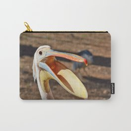 Pelecanus onocrotalus Carry-All Pouch