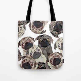 Pug Nation Tote Bag