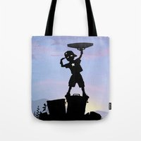 Captain Kid Tote Bag