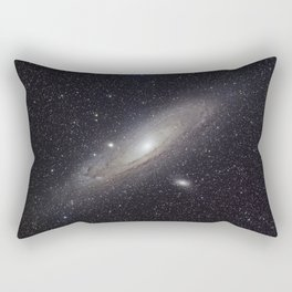 Andromeda Galaxy Rectangular Pillow