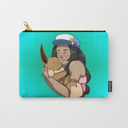 Trainer And Eevee Carry-All Pouch