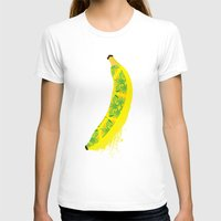 banana T-shirts featuring Banana by SaraWired