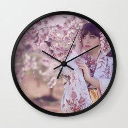"春 ""Haru"" Wall Clock"