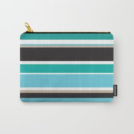 Vivid Stripes Carry-All Pouch