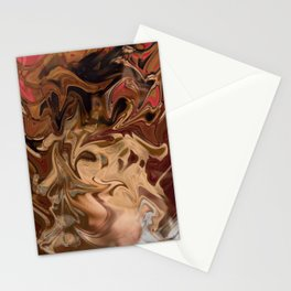 Sundae: two scoops of digital abstraction Stationery Cards