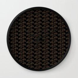 Racing Bicycle Pattern Wall Clock